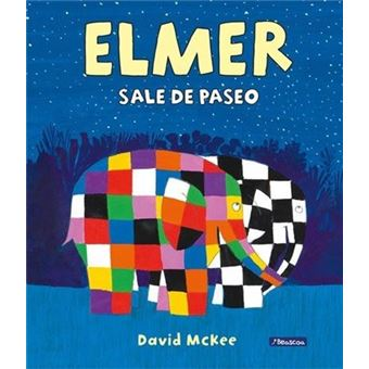 Elmer sale de paseo-elmer