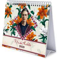 Calendário de Secretária Deluxe 2020 Frida Kahlo