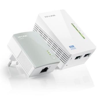 TP-Link PLC Powerline AV500 Wireless N300 Extender Starter Kit TL-WPA4220KIT