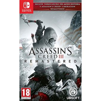 Assassin's Creed 3 Remastered + Assassin's Creed Liberation - Nintendo Switch