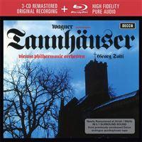 Wagner: Tannhäuser - 3CD + Blu-ray