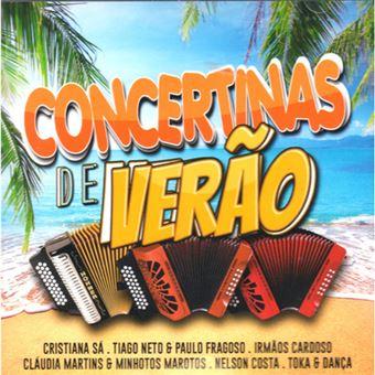 Concertinas de Verão - CD