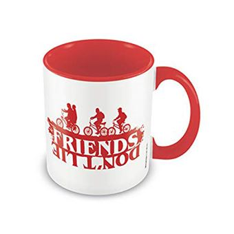Caneca Stranger Things: Friends Don't Lie