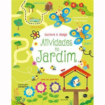 Escreve e Apaga: Atividades no Jardim
