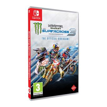 Monster Energy Supercross: The Official Videogame 3 - Nintendo Switch