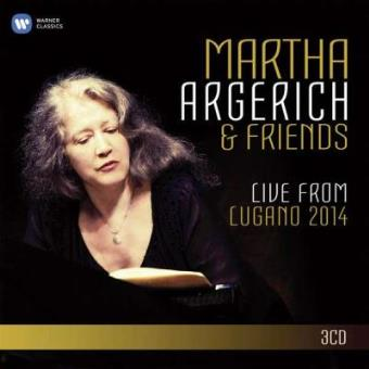 Martha Argerich & Friends | Live from Lugano 2014 (3CD)