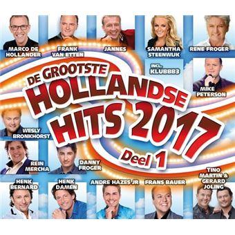Hollandse Hits 2017 Deel 1 - CD