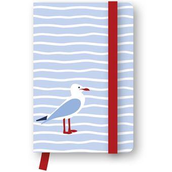 Caderno Liso e Pautado TeNeues Seagull Bolso