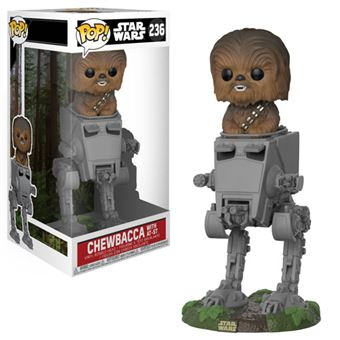 Funko Pop! Star Wars: Chewbacca in AT-ST - 236