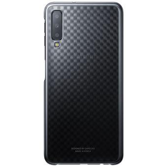 Capa Samsung Gradiente para Galaxy A7 - Preto
