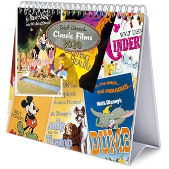Calendário de Secretária Deluxe 2020 Disney - Classic Films