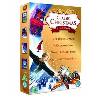 Classic Christmas 4 Film Collection