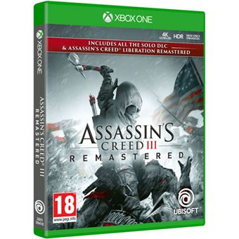 Assassin's Creed 3 Liberation Remastered - Xbox One