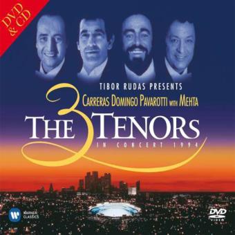 Carreras,Domingo,Pavarotti: The Three Tenors in Concert 1994 (2CD)