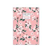 Agenda Semanal 18 Meses 2020-2021 Legami Média - Flores Bloom