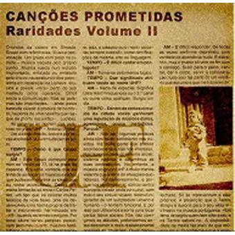 Canções Prometidas | Raridades Vol. 2
