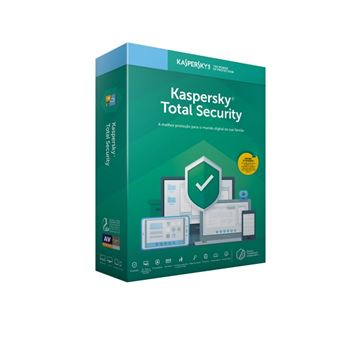 Anti-Virus Kaspersky Total Security 2019 3 Dispositivos - 1 Ano