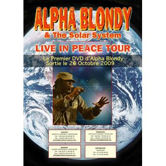 Live In Peace Tour (dvd)