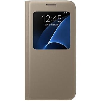 Samsung Capa View para Samsung Galaxy S7 (Dourado)
