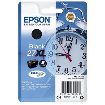 Tinteiro Epson 27XL - C13T27114012 - Preto
