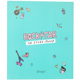 Dossier 4 Argolas Mr. Wonderful - Rockstar in Study Mood A4