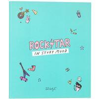 Dossier 4 Argolas Mr. Wonderful - Rockstar in Study Mood A4