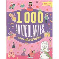 Princesas - 1000 Autocolantes com Actividades