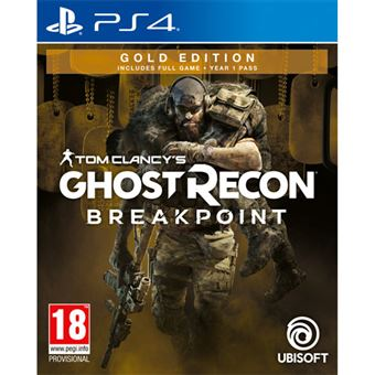 Tom Clancy's Ghost Recon: Breakpoint - Gold Edition - PS4