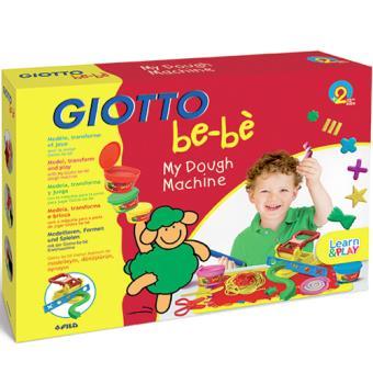 Plasticina e Máquina de Modelar Giotto Be-Bè