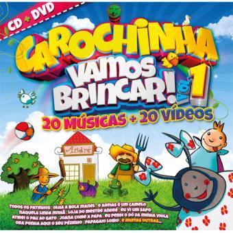Carochinha Vamos Brincar Vol 1 (CD + DVD)