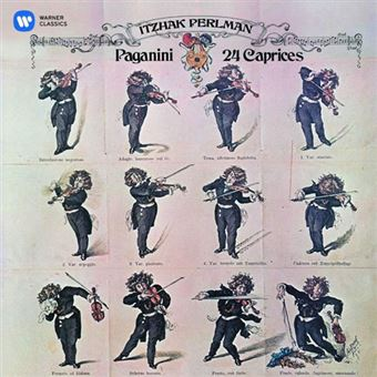 Paganini: Caprices for solo violin, Op. 1 Nos. 1-24 - CD