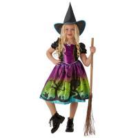 Disfarce Bruxa com Chapéu - Tamanho S 3 a 4 Anos - Rubies