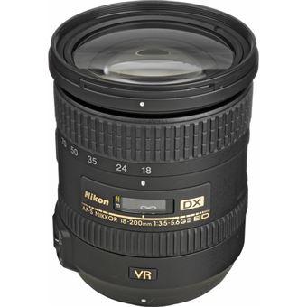 Objetiva Nikon AF-S DX NIKKOR 18-200mm f/3.5-5.6G ED VR II