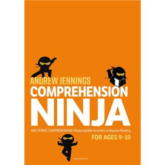 Comprehension ninja for ages 9-10