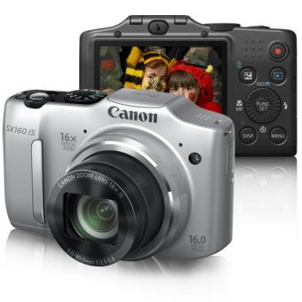 Canon PowerShot SX160 IS Prata
