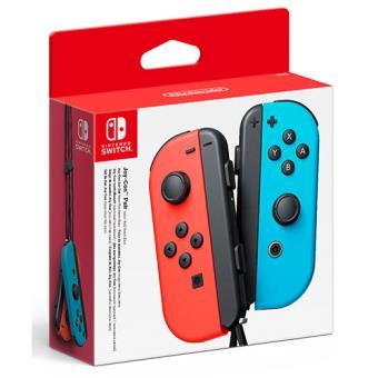 Nintendo Switch Conjunto Comandos Joy-Con Azul Néon & Vermelho Néon (Esquerdo+Direito)