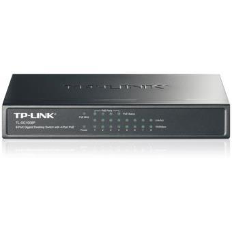 TP-Link Switch 8 Portas Gigabit 4 Portas PoE TL-SG1008P