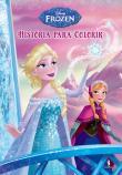 Frozen - História Para Colorir