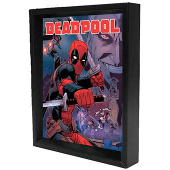 Poster 3D Lenticular Deadpool Swords