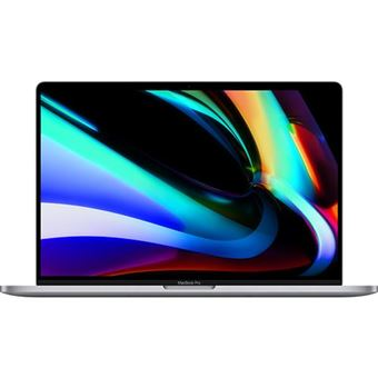 Apple MacBook Pro 16'' Retina i9-2,4GHz | 16GB | 512GB | Radeon Pro 5500M | 4GB com Touch Bar e Touch ID - Cinzento Sideral