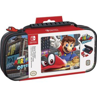Game Traveler Super Mario Odyssey Deluxe Travel Case Nintendo Switch