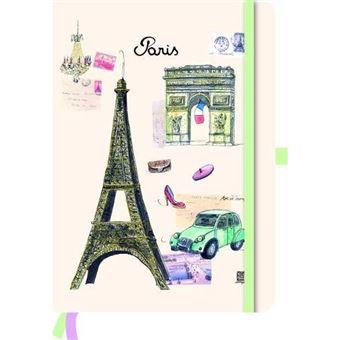 Caderno Liso e Pautado TeNeues Paris A5