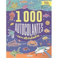 Animais do Mar - 1000 Autocolantes com Actividades