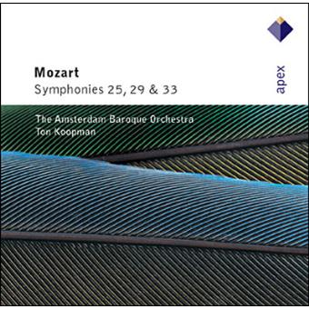 Mozart : Symphonies Nos 25, 29 & 33