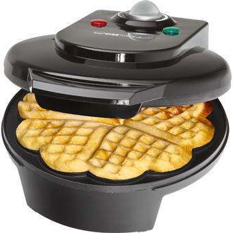 Máquina de Waffles Clatronic WA 3491 - Preto