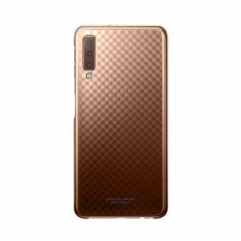 Capa Samsung Gradiente para Galaxy A7 - Dourado