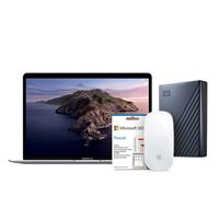 Pack Fnac Apple MacBook Air 13'' | i3-1,1GHz | 8GB | 512GB SSD - Prateado + Disco Externo WD - 2TB + Magic Mouse 2 + Office 365 Pessoal