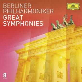 Berliner Philharmoniker | Great Symphonies (8CD)