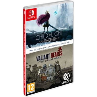 Child of Light + Valiant Hearts: The Great War - Nintendo Switch