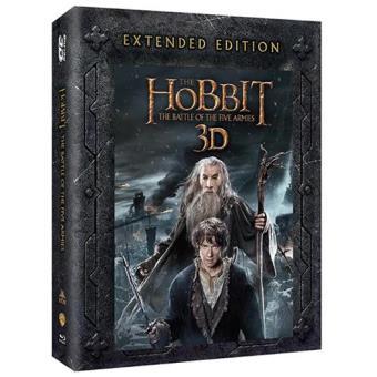 O Hobbit: A Batalha dos Cinco Exércitos – Versão Alargada (Blu-ray 3D + 2D)